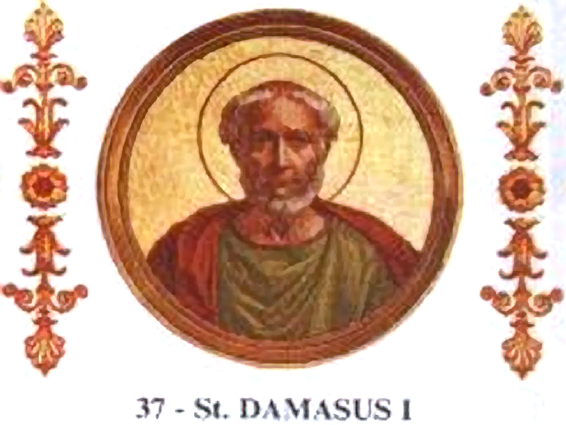 Pope Damasus I vs (anti)Pope Ursinus